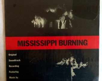 VERY RARE Mississippi Burning Vinyl Soundtrack - Sealed