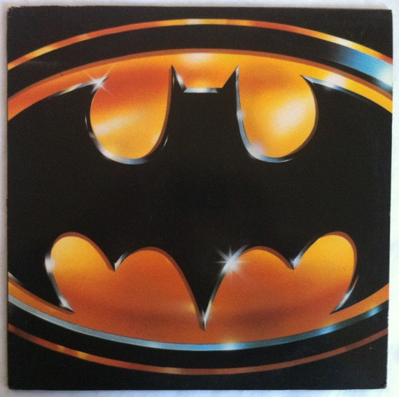 VERY RARE Batman Vinyl Soundtrack LP Prince - Excellent Condition