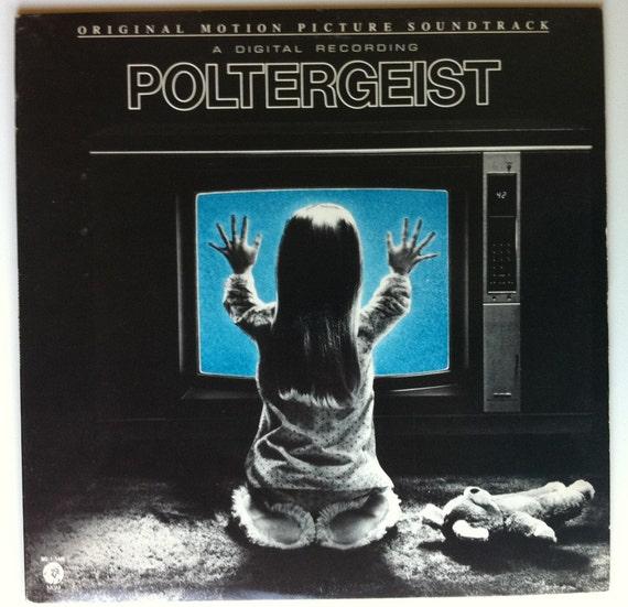 VERY RARE Poltergeist Vinyl Soundtrack - Excellent Condition