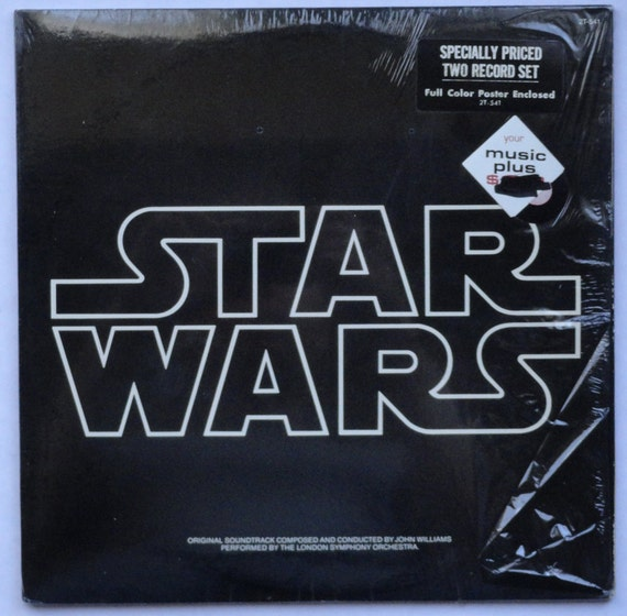 """RARE """"Star Wars"""" Vinyl Soundtrack, includes inserts, poster  (1977) - Excellent Condition"""