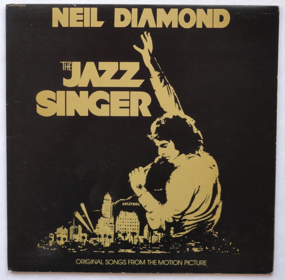 Album Diamond: Neil Diamond The Jazz Singer Vinyl Soundtrack