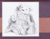 Isabella Bear - greeting card