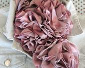 Romantic Ribbon Rose Pin