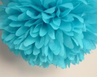 Set of 10 Decorative Poms..choose colors