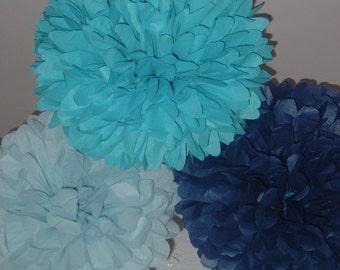 Tissue Paper pom poms set of 30...
