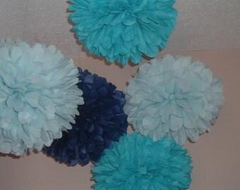30 Tissue paper poms, Pom poms, Paper pom, Wedding decorations, Baby shower. Wedding anniversary, Bridal party, Party