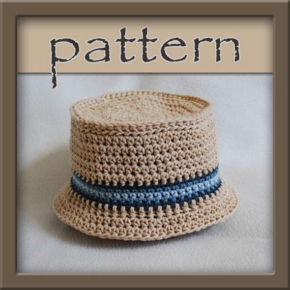 Pattern crochet bucket hat pdf no 104 by hookaholicpatterns