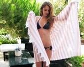 Organic Peshtemal Towel Eco Friendly,Natural %100 COTTON,High Quality Hand Woven Turkish Cotton Bath,Beach,Spa,Yoga,Pool Towel