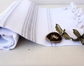 Eco Friendly Linen PESHTEMAL,High Quality Hand Woven Turkish Cotton Bath,Beach,Spa,Yoga,Pool Towel