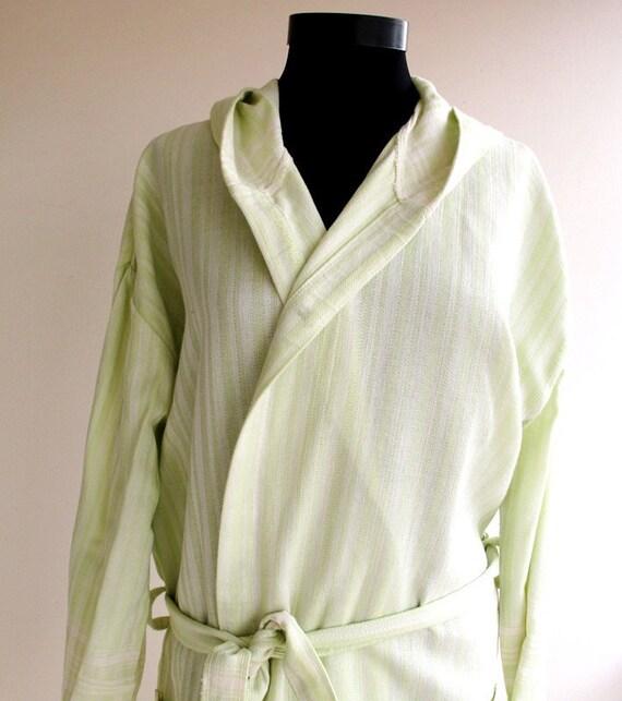 Unisex BATHROBE %100 Natural Cotton Turkish Bath Robe By