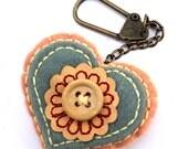 Handbag keychain keyfob charm accessory handmade uk seller