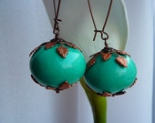Turquoise Cotton Pearls