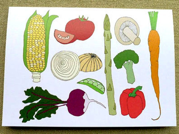 Veggie Cards
