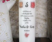 Fall Leaves Wedding Unity Candle