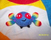 Cute little Parasprite crochet bug Any Color you want