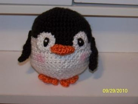 Perry the crochet penguin can be ANY colors you want