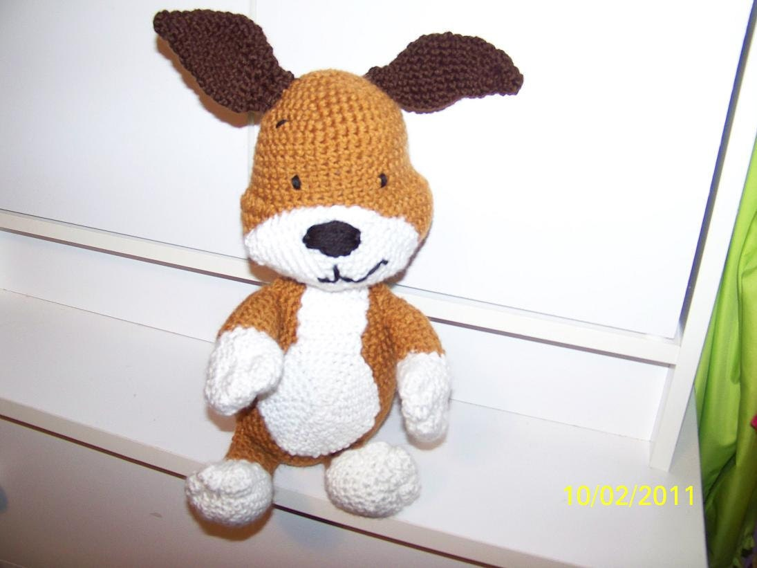 ALAN DART - Kipper the Dog - Toy Knit Pattern Images - Frompo
