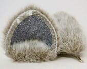 Silver Fur Cat Ears