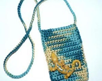 Five Tiny Totes for Cell Phones and MP3 Players - Crochet Pattern no. 004