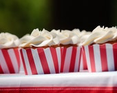 12 Carnival Themed Cupcake Wrappers