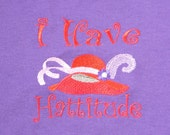 Red Hat Society T-shirt - I Have Hattitude