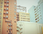 California Photograph - Cityscape Photograph - Pastel Buildings : Los Angeles