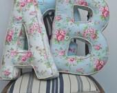 Alphabetty Letter Cushions Pillows - Cath Kidston fabrics
