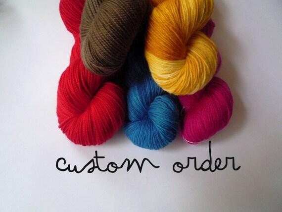 Custom order 4389