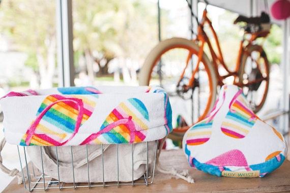 Flip Flop Bike Seat Cover