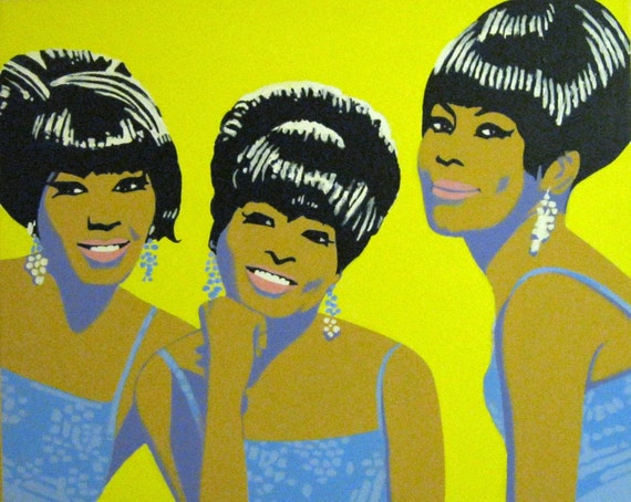 the marvelettes painting