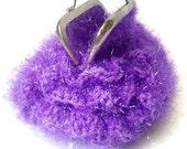 Crochet Frame Coin Purse Phlox Ruffled-50% OFF