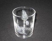 """One """"Light as a Feather"""" Votive or Tea Light Candle Holder - Ready to Ship"""