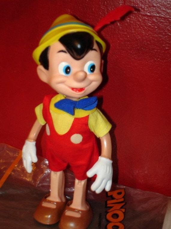 1960 S 1970 S Vintage Walt Disney Disneyland Pinocchio