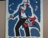Scorpio Comic Book Zodiac Poster
