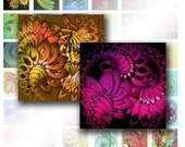 Digital collage sheet 1x1 digital collage sheets Colorful abstract swirls scrabble tile jewelry making paper supplies (034)BUY 3 GET 1 BONUS