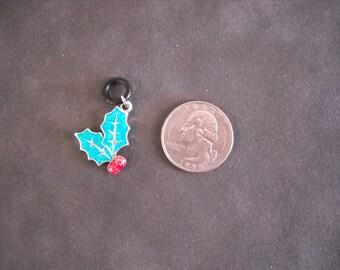 Christmas Holly Holiday Charm Jewelery 10