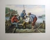 Mississippi Raftsmen Playing Cards