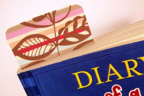 Bookmark - 1 Paper Bookmark - Retro Flora