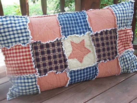 standard size pillow sham frontier by kristinscountryhome on etsy. Black Bedroom Furniture Sets. Home Design Ideas