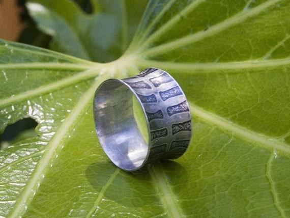 Sterling Silver Ring - Fern Design