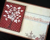 winter wonderland holiday card