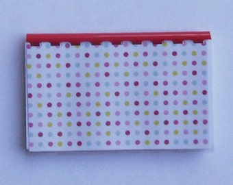 SALE ITEM Price is marked Handmade Red Polka Dots Blank Recipe Book