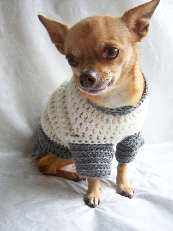 Crochet Dog Sweater - The Ultimate Dog Sweater - Unisex