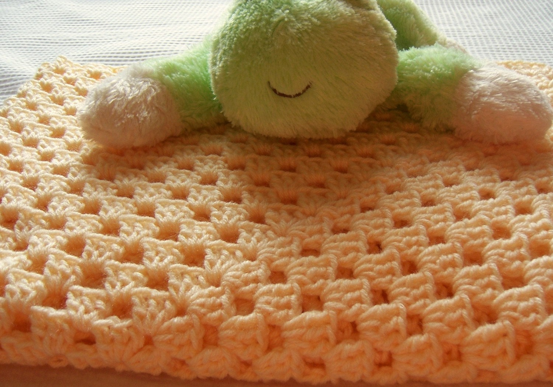 babydecke baby decke granny square h keln h keln f r von lukesmom6. Black Bedroom Furniture Sets. Home Design Ideas