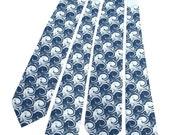 4 Microfiber Neckties for Wedding - Custom Color Groomsmen Ties - Choose Any Design