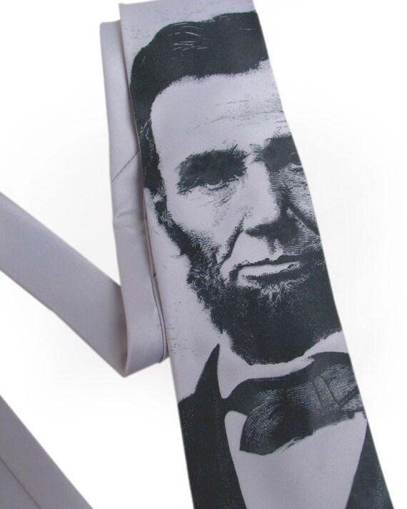 Abraham Lincoln Tie - Cool Necktie - Lincoln Necktie