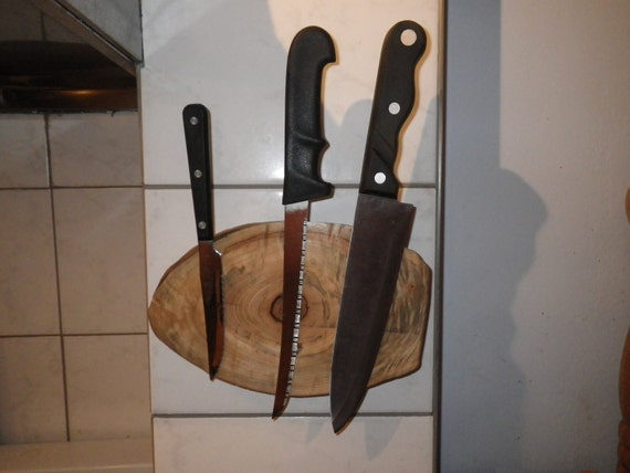 Natural Edge Knife Rack
