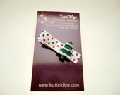SALE....Chistmas Tree Hair Clip...99cents