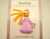 SALE - Rapunzel Disney Princess Inspired Ribbon Sculpture Hair Clip ...Hair Accessory ...Hairbow