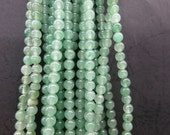 3 str -Green Aventurine round beads 4mm -98pcs/Strand